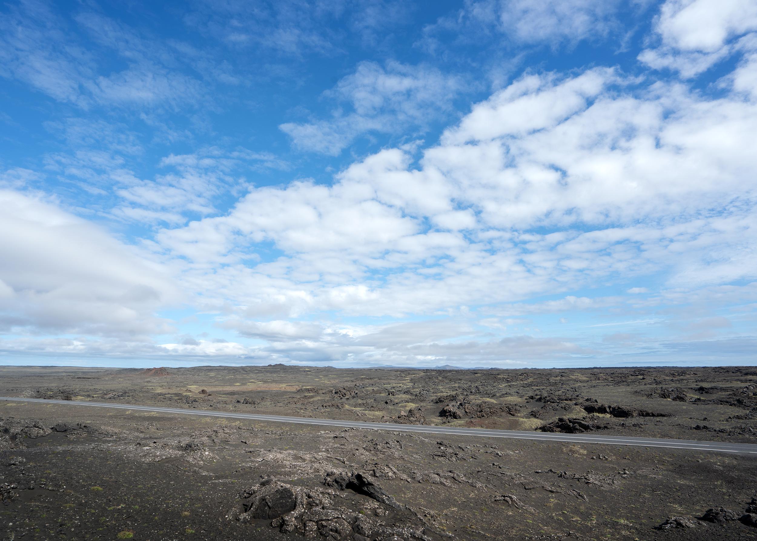 Strasse auf Island
